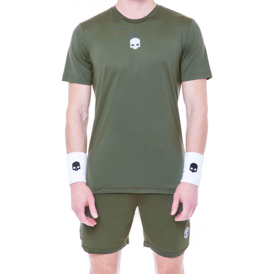 Hydrogen Tech Tee Military green man