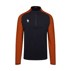 Robey perf. half zip top