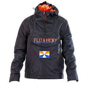 F&H Tec Jacket Navy-Orange