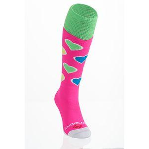 Brabo Socks Harts Fluor Roze