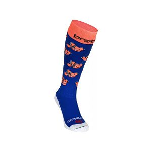 Brabo Socks Fishes Blue