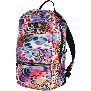 Brabo Backpack fun Leopard rainbow