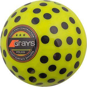 Grays bal Polka Geel/Zwart